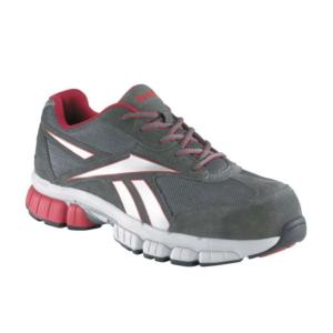 Reebok Mens Gray Cross Trainer Composite Toe Shoes