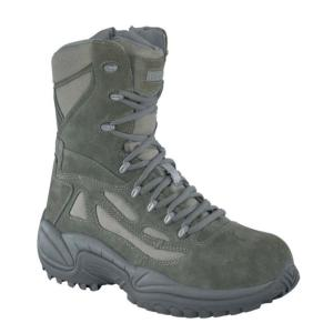 Reebok Womens Rapid Response 8 in.Composite Toe  Side Zipper  Boots
