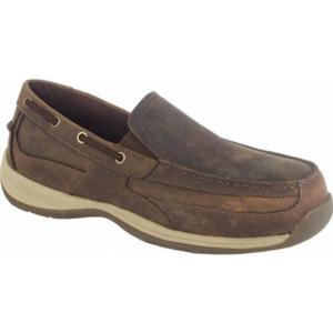 Rockport Works Men's Sailing Club Slip On EH Steel Toe Boat Shoe