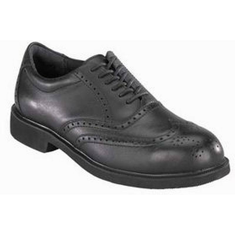 Rockport Works Men's Dressports Wing Tip Steel Toe Shoe