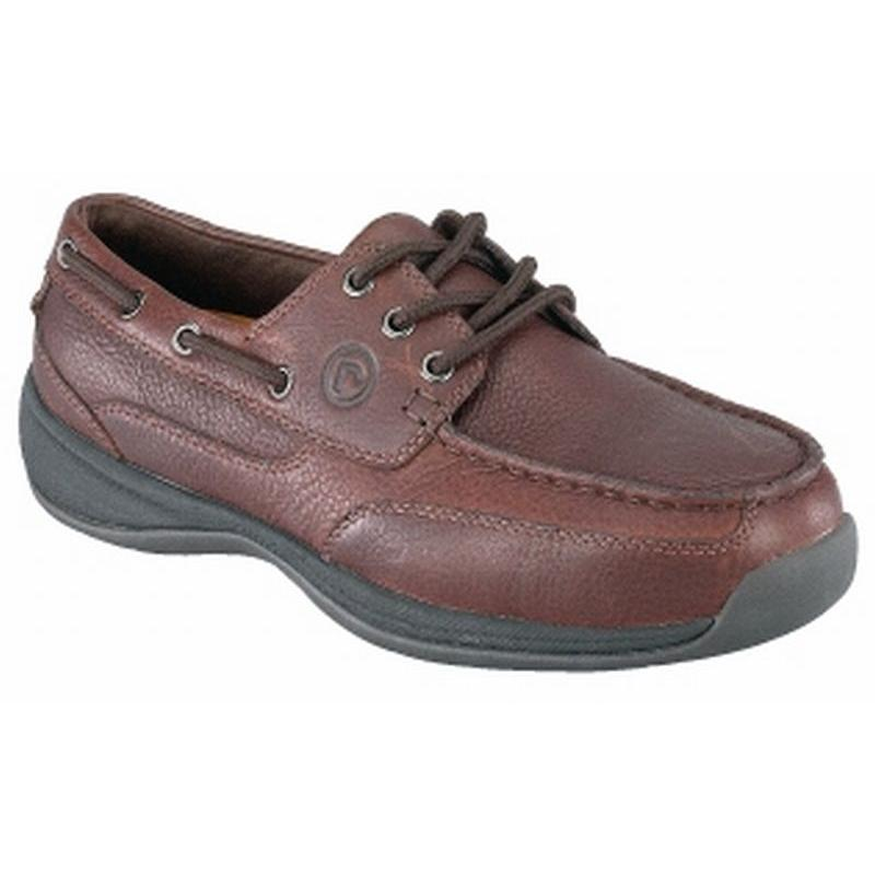 Rockport Men's Sailing Club 3 EyeTie ESD Steel Toe Boat Shoe