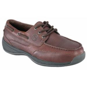 Rockport Works Men's Sailing Club 3 Eye Tie ESD Steel Toe Boat Shoe