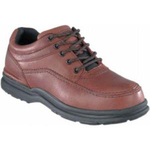 Rockport Works Men's World Tour ESD 5 Eye Moc Steel Toe Oxford