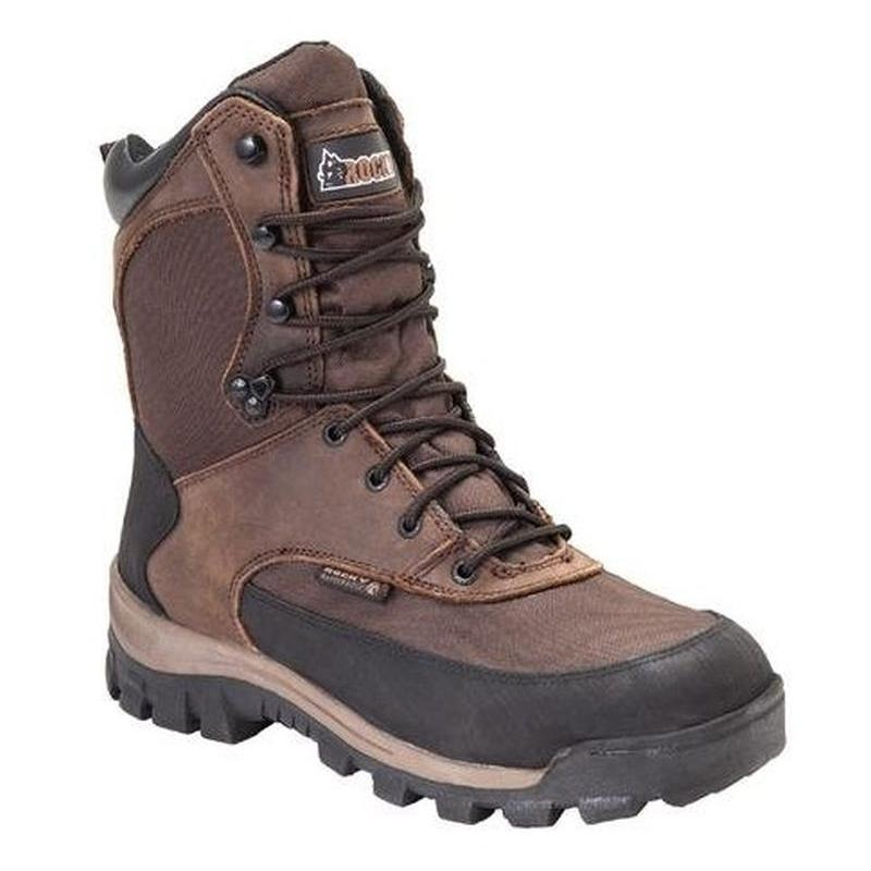 Rocky Mens 8in. Core Waterproof Insulated  Outdoor Boots