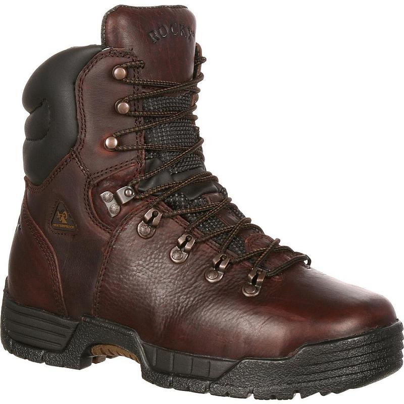 Rocky Men's 8 in. MobiLite Max EH Steel Toe Waterproof Boots