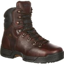 Rocky Men's 8 in. MobiLite Max EH Steel Toe Waterproof Boots 6115