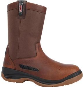 Rocky Men's 10 in. ErgoTuff Cool Composite Toe Wellington Boot