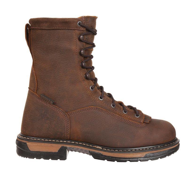 Rocky Mens Ironclad Steel Toe Waterproof Work Boots