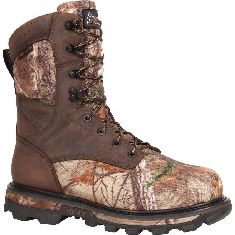 Rocky Mens 9in. Arktos Waterproof Insulated Outdoor Boots