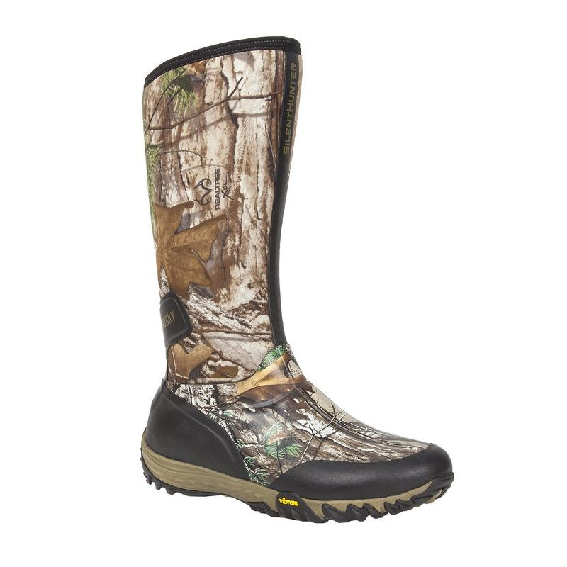 Rocky SilentHunter Waterproof Insulated Rubber Outdoor Boots