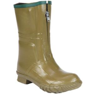 Servus 13 in. Insulated Men's Olive Zipper Pac Boots