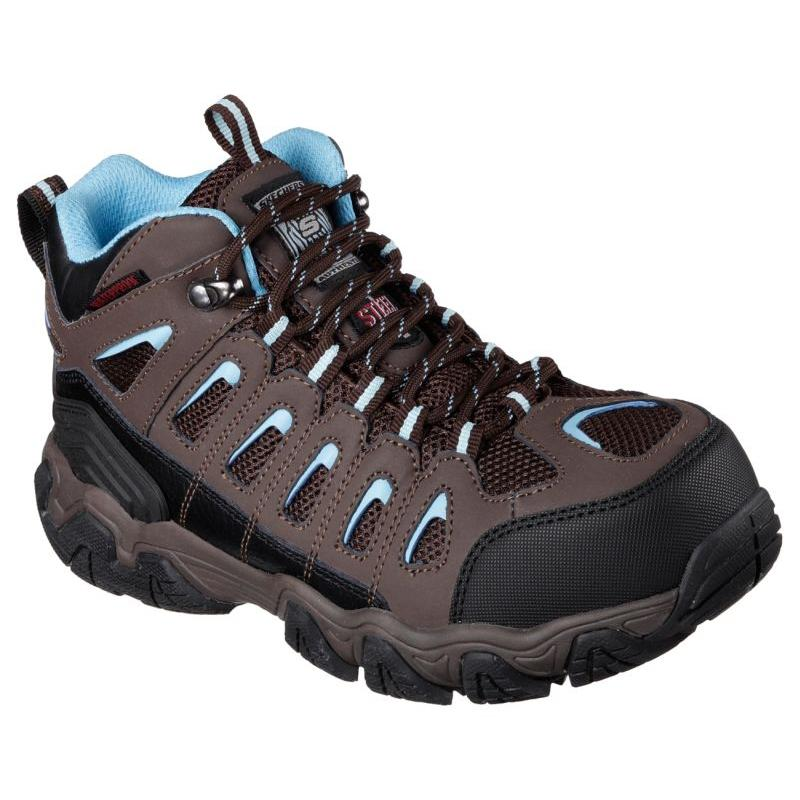 Skecher S Women S Blais Ebz Steel Toe Work Boots 76571
