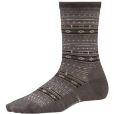 Smartwool Women's Mini Fairisle Crew  Socks SW770