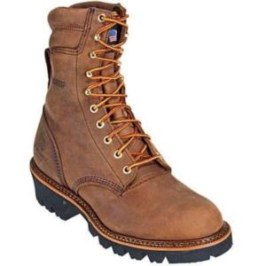 Thorogood Men's 8 in. Waterproof Insulated Steel Toe Logger-USA MADE