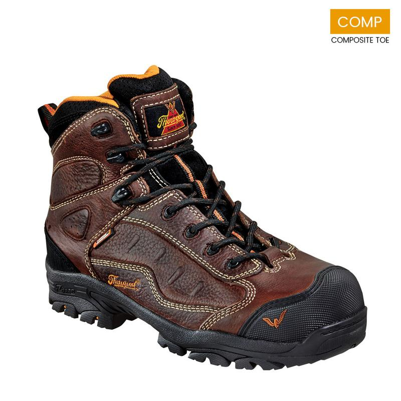 b4d698b522d Thorogood Men s Z-Trac Safety Series ASR WP Comp Toe Sport Hiker Boots