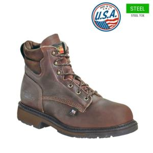 Thorogood Men's 6 in. American Heritage Steel Toe Boot-USA Made