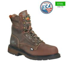 Thorogood Men's 8 in. American Heritage Steel Toe Boot-USA Made 804-4204