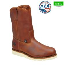 Thorogood_Thorogood Men's Steel Toe Wellington Boots-USA Made