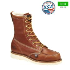 Thorogood Men's 8 in. American Heritage Moc  Steel Toe Boots-USA Made 804-4208
