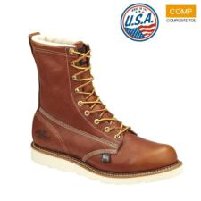 Thorogood_Thorogood Men's 8 in. American Heritage Waterproof  Composite Plain Toe Boots-USA Made