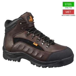 Thorogood Men's 6 in. Internal Met Guard Steel Toe Hikers