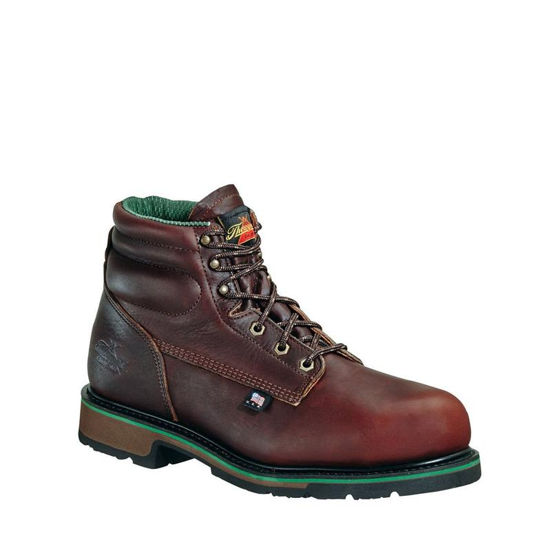 c269a67a72a Thorogood Men's 6 in. Am. Heritage SD Steel Toe Work Boot (U.S.A.)