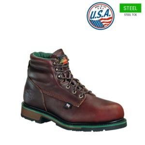 Thorogood Men's 6 in. American Heritage Steel Toe Sport Boots-USA Made
