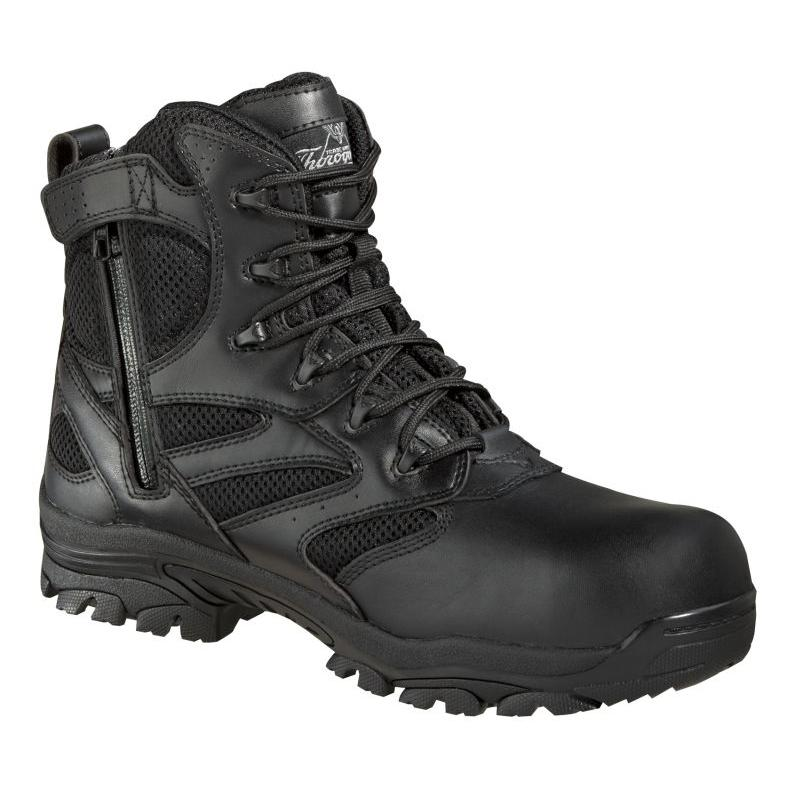 1b34aec089e Thorogood 6in. WP Side Zip Waterproof Composite Toe Boots