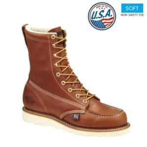 Thorogood Men's 8 in. American Heritage Moc Toe Boots-USA Made