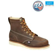 Thorogood Men's American Heritage 6 in. Brown Moc Toe Boot 814-4203