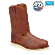 Thorogood_Thorogood Men's Soft Toe Wellington Boots-USA Made