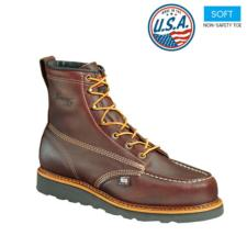 Thorogood_Thorogood Men's 6 in. American Heritage Wedge Moc Toe Boot-USA Made