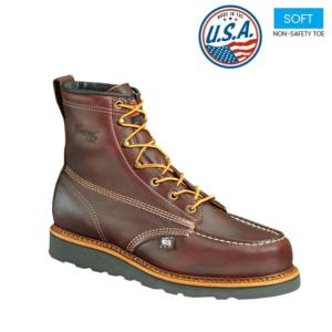 Thorogood Men's 6 in. American Heritage Wedge Moc Toe Boot-USA Made