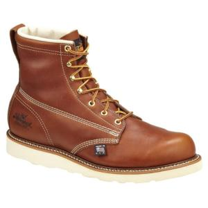 Thorogood Men's 6 in. American Heritage Wedge Plain Toe Boot-USA Made