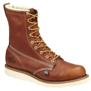 Thorogood Men's 8 in. American Heritage Plain Toe Boots-USA Made
