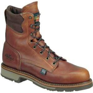 Thorogood Men's 8 in. American Heritage Soft Toe Boots-USA MADE