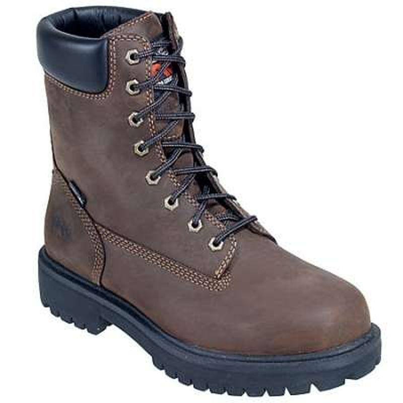 Timberland Men's Direct Attach 8 inch Soft Toe  Boots