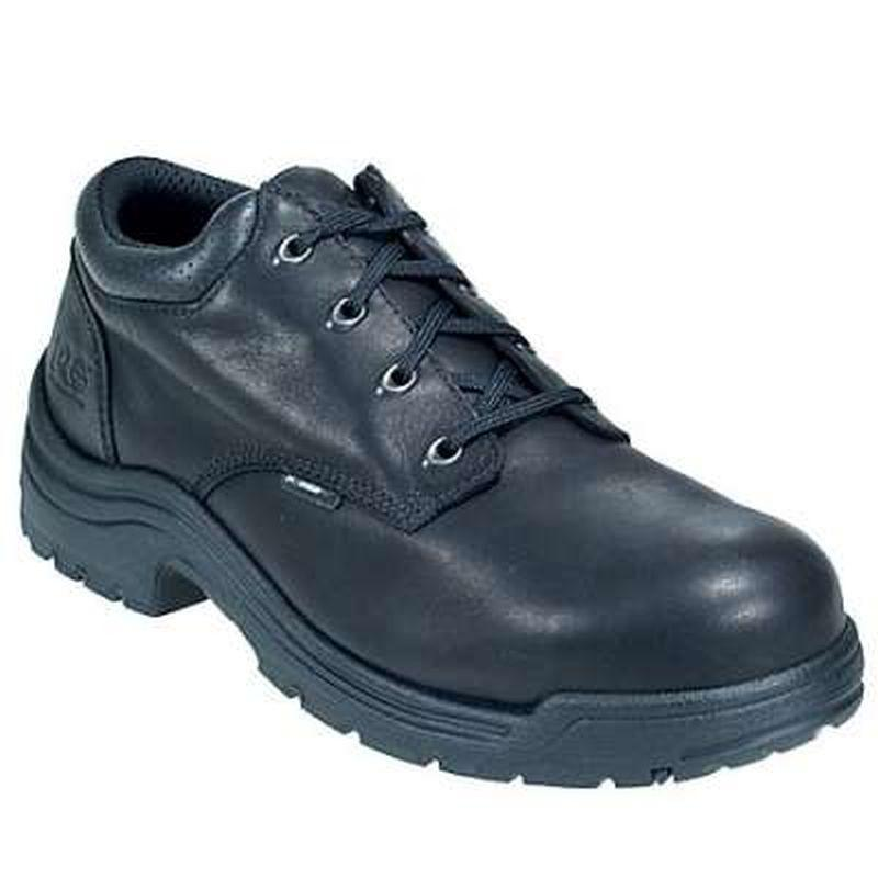 Timberland Men's Pro TiTAN Safety Toe Low Work Shoes