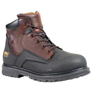 Timberland Men's Pro Powerwelt 6 Inch Steel Toe Waterproof Work Boots