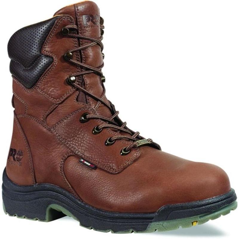Timberland Men S Pro 8 Inch Steel Toe Titan Waterproof