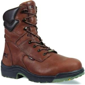 Timberland Men's PRO 8 inch Steel Toe Titan  Waterproof Boot