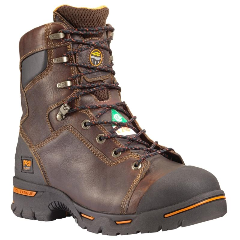 Timberland Men's PRO 8 inch Steel Toe Work Boots