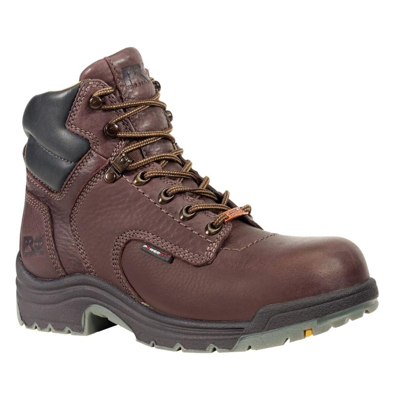 Timberland Women's PRO 6 in. TiTAN Steel Toe WP Boots