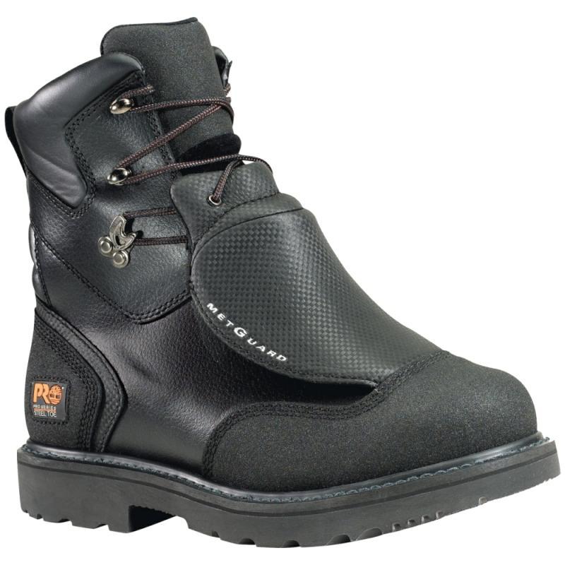 Timberland Men's Pro Waterproof 8 Inch Steel Toe Met Guard