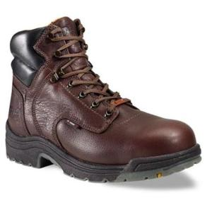 Timberland Men's PRO TiTAN  6 inch Soft Toe Waterproof Boot