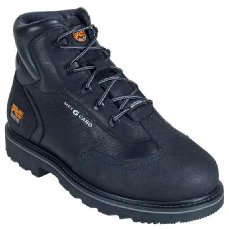 Timberland Pro Mens 6 in. Internal Met Guard Steel Toe Boots
