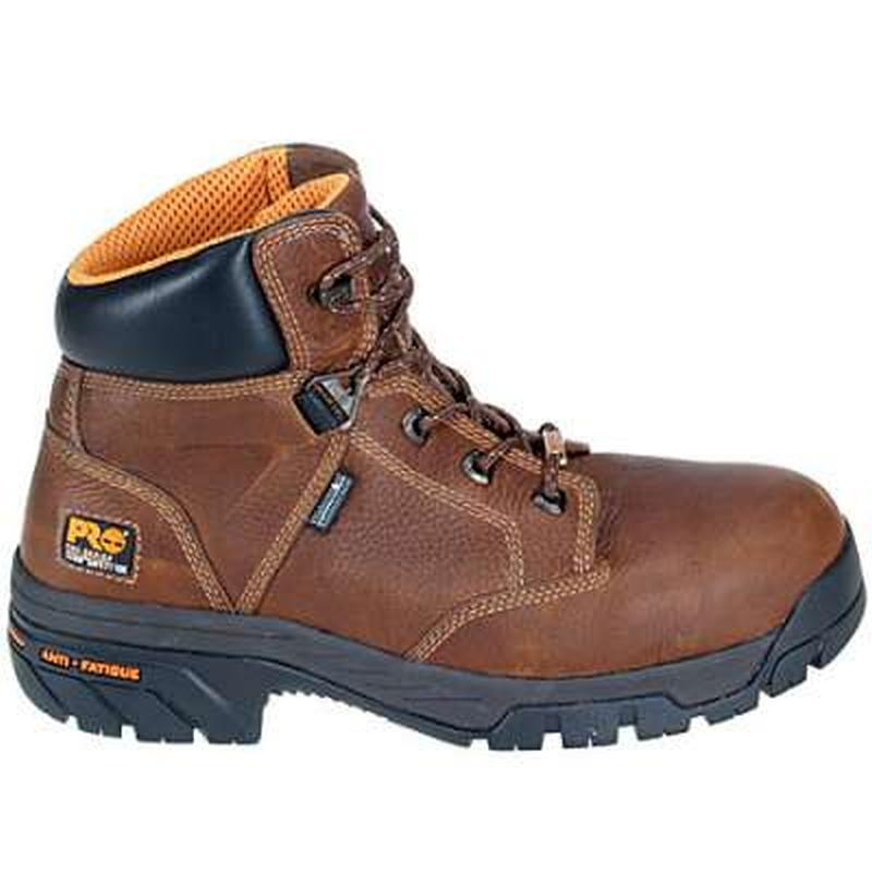 Timberland Men's PRO TiTAN Safety Toe Helix 6-Inch WP Boots