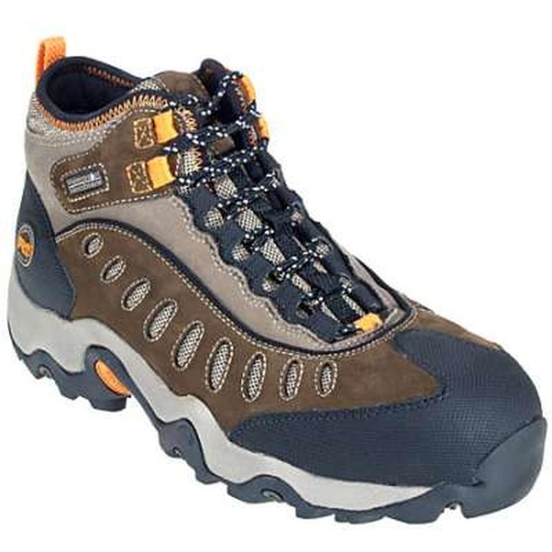 Timberland Pro Mens Waterproof Mudslinger Mid Steel Toe Boot