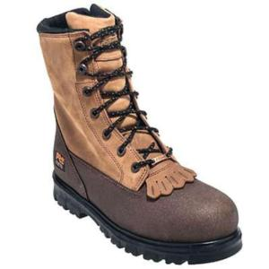 Timberland Pro Mens 8 in. Waterproof Rigmaster Lace Rigger Side-Zip Steel Toe Boots