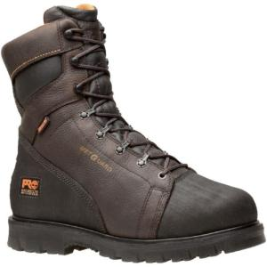 Timberland Pro 8 in. Specialty Rigmaster Waterproof Steel Toe Internal Met Guard Boots